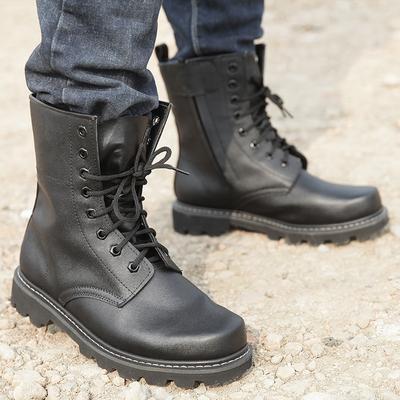 军靴男士作战靴高帮战术靴户外军迷用品鞋靴3515强人沙漠飞行靴子
