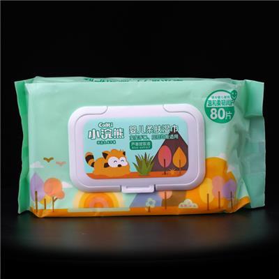小浣熊湿巾360度产品展示