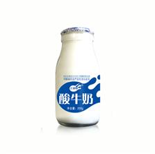 三剑客牛奶 玻璃瓶装酸奶20..