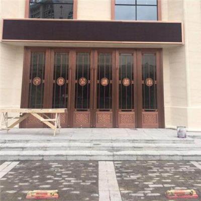 地弹簧 铜门