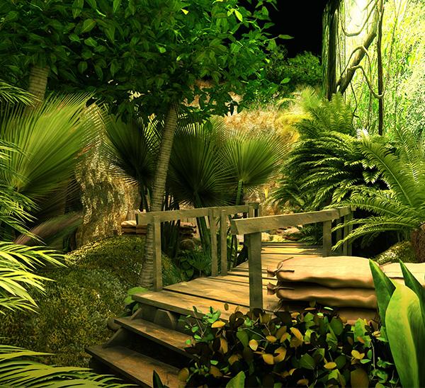 """""""奇奇梦想城""""热带丛林效.."""