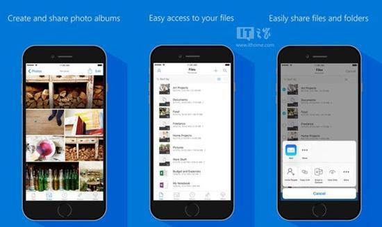 苹果iOS版《OneDrive》更新:适配iOS10..