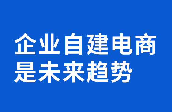 应该企业自建电商系统,法人会创始人刘宝方2016年就表示:企业自建电商,是未来趋势