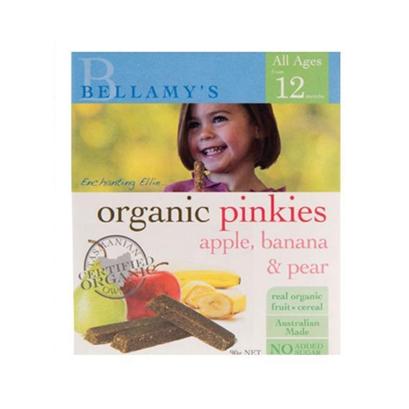 Bellamy 贝拉米 有机苹果香蕉梨子棒 12m+