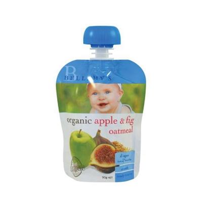 Bellamy's 贝拉米 Organic Apple Fig & Oatmeal 苹果无花果燕麦泥 4m+ 90g