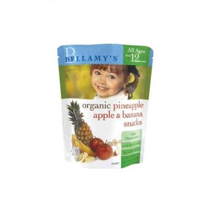 Bellamy 贝拉米 Organics Pineapple Apple and Banana Snacks 苹果菠萝香