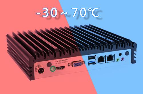 超宽温-30~70℃工控机